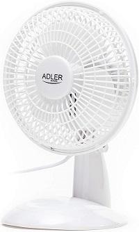 Adler AD7301ventilador silencioso barato 15cm, 30W, 2 Velocidades,