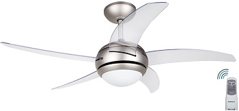 ventilador de techo silencioso orbegozo el mejor con luz