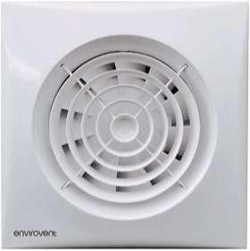 extractor ventilador de baño silencioso con temporizador y sensor de movimiento