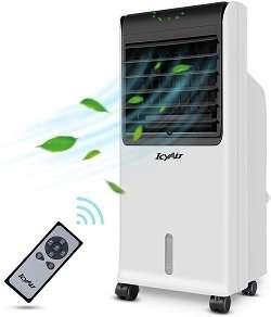 el mejor aire acondicionado silencioso sin tubo icyair con mando a distancia