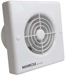 extractor silencioso baño con temporizador marca manrose