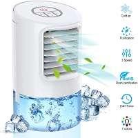 mini climatizador evaporativo silencioso en oferta portatil marca laluztop