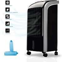 pequeño climatizador evaporativo silencioso barato marca newteck deposito de 4 litros