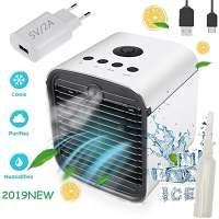 Nifogo 3 en 1 pequeño Climatizador Evaporativo Air Mini Cooler Aire silencioso barato